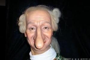 世界之最 世界上鼻子最长的人