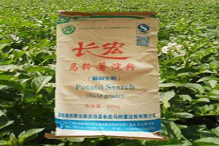 食品级马铃薯淀粉合格品 (1)