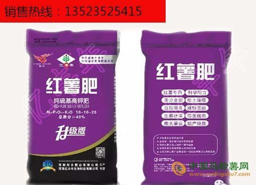 热销产品1+1红薯套餐肥