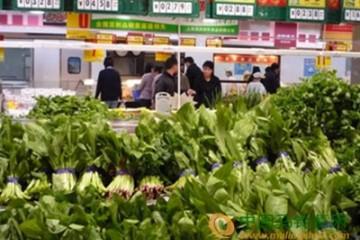 常州凌家塘市场:菜价持续下滑 ()