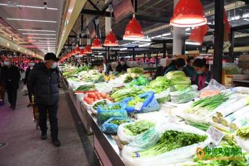 八里桥市场:节后菜价回落 ()