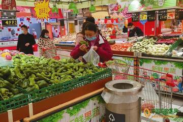 盐城:蔬菜价格回落 ()