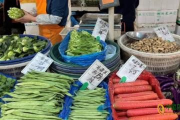 上海:蔬菜价格普遍上涨